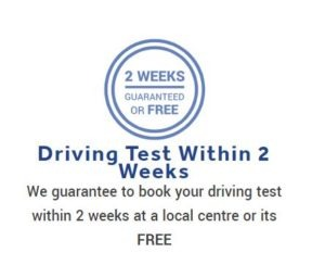 Driving Test Cancellations Within 2 Weeks at Belvedere, London