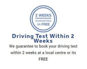 Short Notice Driving Test Aberdeen