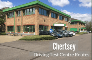 Cancellation driving tests at Chertsey