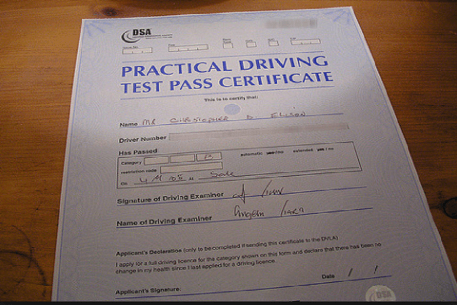 Great tip on passing your practical driving test.