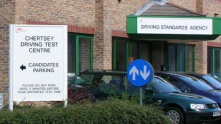 last minute driving instructor chertsey
